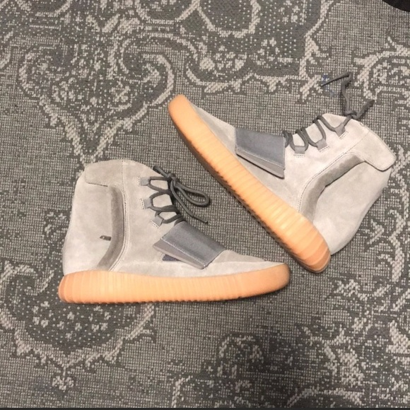 more photos 13217 b5131 Yeezy Boost 750 Gray/Gum Bottom